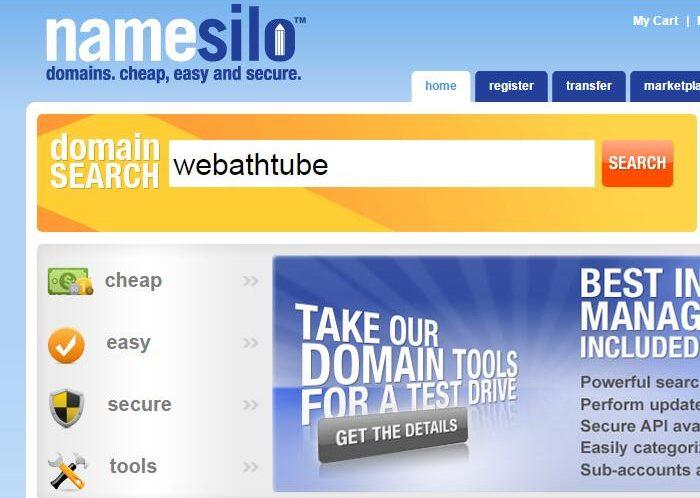 购买国外域名 使用Namesilo 购买注册域名流程